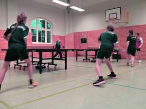 2014-04-16 - SG Weißig 3 gegen Motor Trachenberge Tischtennis