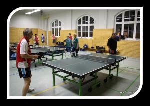 1. offene Vereinsmeisterschaften der Abteilung Tischtennis