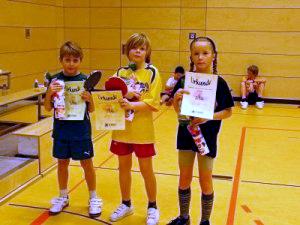 SG Weißig - Tischtennis in Dresden - Neujahrstunier 2011