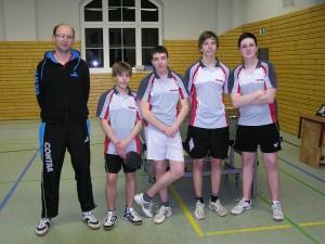 Tischtennis Bezirksmeister Dresden Jugend U18