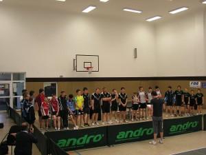 SG Weißig (Dresden) bei der Sächsischen Landesmeisterschaft Tischtennis